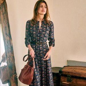 Sezane Baya Dress Size 36